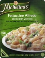 Michelina's Fettuccine Alfredo with Chicken & Broccoli