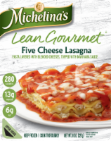 Michelina's Lean Gourmet Five Cheese Lasagna