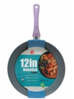 Victoria Soft Touch Handle Ceramic Nonstick Fry Pan - Pastel