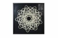 Screen Gems Framed Abstract Wall Decor Art, SGM1820 Shadow Box 35 x 35 - 1