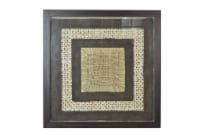 Screen Gems Framed Abstract Wall Decor Art, SGM1828 Shadow Box 35 x 35 - 1