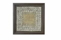 Screen Gems Framed Abstract Wall Decor Art, SGM1829 Shadow Box 16 x 16 - 1