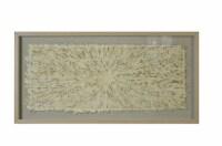 Screen Gems Framed Abstract Wall Decor Art, SGM1840 Shadow Box 47 x 24 - 1