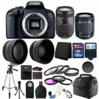 Canon Eos Rebel T7i 24.2mp Dslr Camera + 18-55mm + 70-300mm + 32gb Accessory Kit