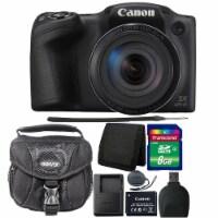 Canon Powershot Sx420 Is Hd Wi-fi 20mp Digital Camera Black With Accessory Kit - 1