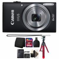 Canon Ixus 185 / Elph 180 20.0mp Digital Camera 8x Optical Zoom Black With Accessory Bundle