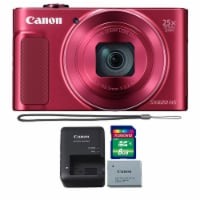 Canon Powershot Sx620 Hs 20.2mp Digital Camera (red) With 8gb Memory Card - 1