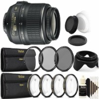 Nikon Af-s Dx Nikkor 18-55mm F/3.5-5.6g Vr Lens With Accessory Kit For Nikon D7100 And D7200 - 1