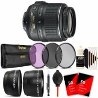 Nikon Af-s Dx Nikkor 18-55mm F/3.5-5.6g Vr Lens + 52mm Uv Cpl Nd Accessory Kit