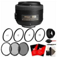 Nikon 35mm F/1.8g Af-s Dx Lens With Accessory Bundle For Nikon Digital Slr Cameras