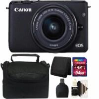 Canon Eos M10 Mirrorless Digital Camera + Ef-m 15-45mm Lens + 64gb Accessory Kit - 1