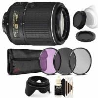 Nikon Af-s Dx Nikkor 55-200mm Vr Ll Lens With Accessory Kit For Nikon D7100 And 7200
