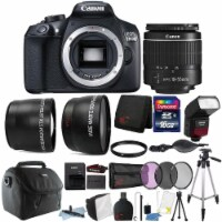 Canon Eos 1300d / T6 Dslr Camera With 18-55mm Lens , Ttl Flash And Accessories - 1