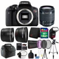 Canon Eos Rebel T6i 24.2mp Dslr Camera With 18-55mm Lens And Accessory Bundle - 1