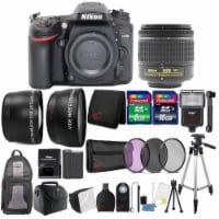Nikon D7200 24.2mp Dslr Camera With 18-55mm Vr Lens And 24gb Accessory Bundle - 1