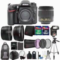 Nikon D7200 24.2mp Dslr Camera With 18-55mm Vr Lens , Ttl Flash And Ultimate Accessory Bundle - 1