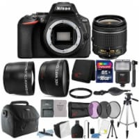 Nikon D5600 24.2mp Dslr Camera With 18-55mm Lens And Accessories - 1