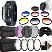 Canon Ef-s 24mm F/2.8 Stm Lens With Accessories For Canon Eos Rebel T3, T3i, T5, T5i, And Sl1 - 1