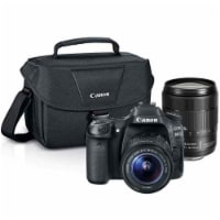 Canon Eos 80d 24.2mp Dslr Camera With 18-55mm Lens , 18-135mm Usm Lens And Canon Camera Case - 1