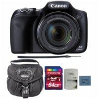 Canon Powershot Sx530 Hs 16mp Digital Camera With 64gb Memory Card And Camera Case - 1
