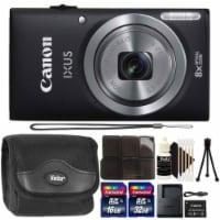 Canon Ixus 185 / Elph 180 20mp Digital Camera Black With Complete Accessory Bundle - 1