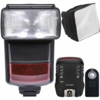 E-ttl Speedlite Flash With Accessory Kit For Canon T5 , T5i , T6 And T6i - 1