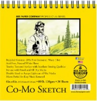 Bee Paper Co-Mo 80 lb Sketch Pad - 30 Sheets - White