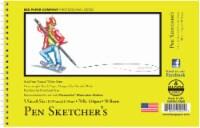 Bee Paper 70 lb Pen Sketcher's Sketch Pad - 50 Sheets - White