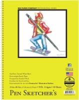 Bee Paper Pen Sketcher's Sketchbook - 50 Sheets