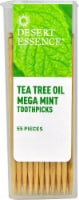 Desert Essence  Tea Tree Oil Mega Mint Toothpicks