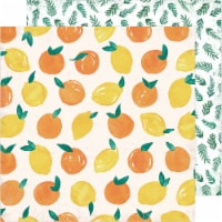 """Heidi Swapp Storyline Chapters Double-Sided Cardstock 12""""-Fresh Squeezed - 1"""