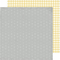 """Heidi Swapp Storyline Chapters Double-Sided Cardstock 12""""-Mellow Yellow - 1"""