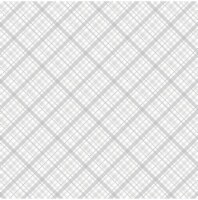 Core'dinations Core Basics Patterned Cardstock 12 X12 -White Plaid - 1