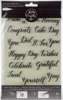Kelly Creates Acrylic Traceable Stamps-Celebration - 1