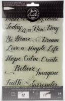 Kelly Creates Acrylic Traceable Stamps-Quotes 3 - 1