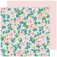 """Maggie Holmes Garden Party Double-Sided Cardstock 12""""X12""""-Blooming - 1"""