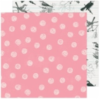 """Maggie Holmes Garden Party Double-Sided Cardstock 12""""X12""""-Bird Watching - 1"""