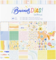 American Crafts Single-Sided Paper Pad 12 X12  48/Pkg-Obed Marshall Buenos Dias - 1