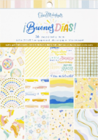 American Crafts Single-Sided Paper Pad 6 X8  36/Pkg-Obed Marshall Buenos Dias - 1