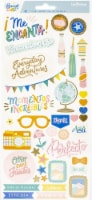 """Obed Marshall Buenos Dias Cardstock Stickers 6""""X12"""" 83/Pkg-Accents & Phrases - 1"""
