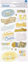 Obed Marshall Buenos Dias Thickers Stickers 37/Pkg-Phrases - 1