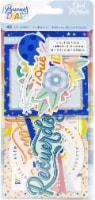 Obed Marshall Buenos Dias Ephemera Cardstock Die-Cuts-Icon & Title - 1