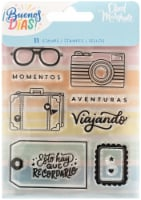Obed Marshall Buenos Dias Acrylic Stamps 11/Pkg- - 1