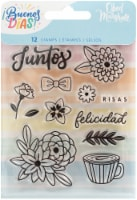 Obed Marshall Buenos Dias Acrylic Stamps 12/Pkg- - 1