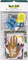 Amy Tan Brave & Bold Ephemera Die-Cuts 40/Pkg-Cardstock W/Foil Accents - 1