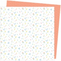 """Amy Tan Picnic In The Park Double-Sided Cardstock 12""""X12""""-Dainty Dots - 1"""