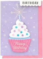 Crate Paper Greeting Card-Birthday Cupcake - 1