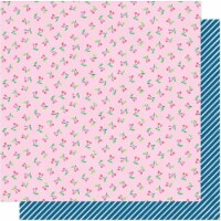 """Dear Lizzy Here & Now Double-Sided Cardstock 12""""X12""""-Carefree - 1"""