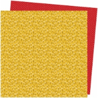 """Amy Tan Late Afternoon Double-Sided Cardstock 12""""X12""""-Marigold Meadows - 1"""