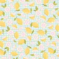 "American Crafts Patterned Single-Sided Cardstock 12""X12""-Pink Lemonade - 1"